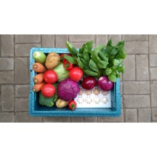 Set Weekly CSA Box -10 Bags of Vegetables